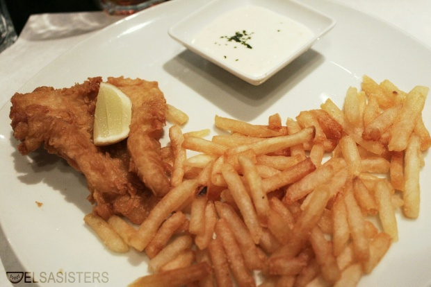 Fish and Chips (main course)