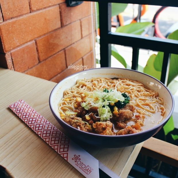 Spicy Chicken Miso Ramen, 35k
