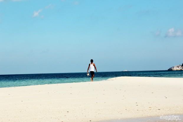 Our captain on Sand Island