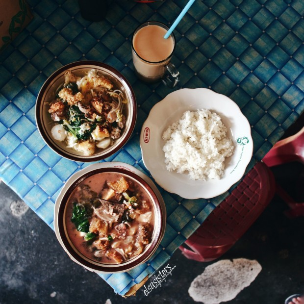 Cuncun Restaurant (CW) Milk Tea, Rice, Songsui, Fish Meatballs