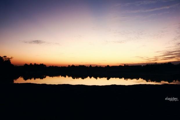 Sunrise at Kaolin Lake